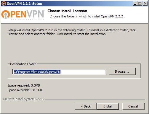 CrossConnect » VPN: OpenVPN for Windows